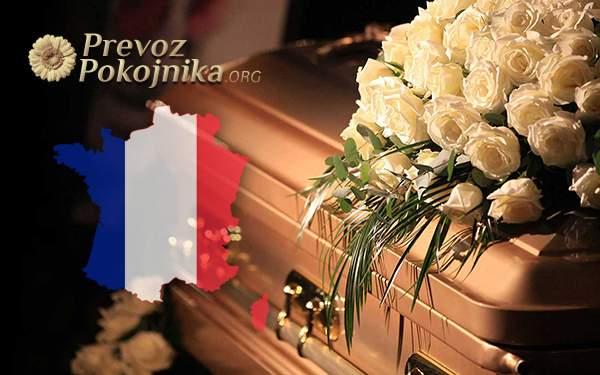 Prevoz preminulih iz Francuske