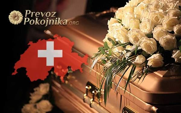 prevoz umrlih iz svajcarske
